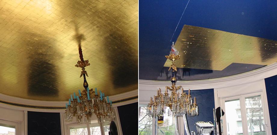 D cors effet tadelakt b ton cir enduits stucco metalis for Plafond en stucco
